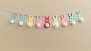 Hacer una guirnalda decorativa de Pascua - Paso 4