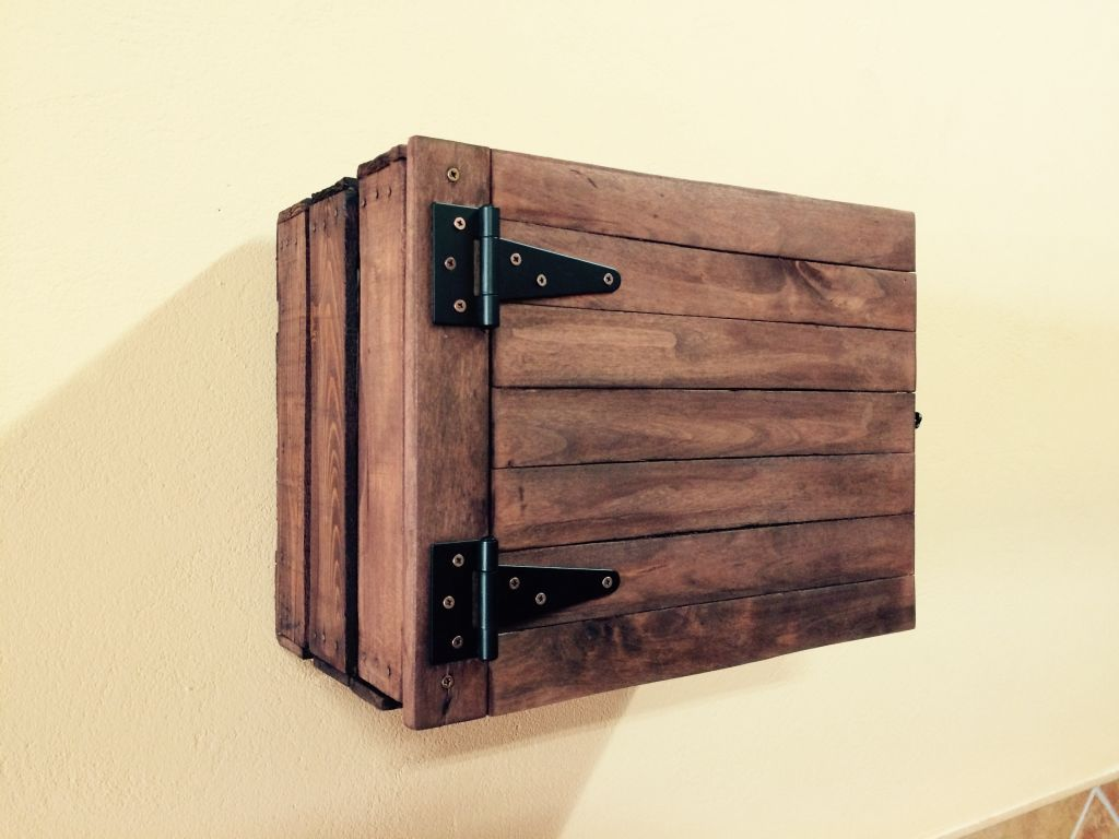 Ideas Diy Para Reciclar Cajas De Madera Hogarmania