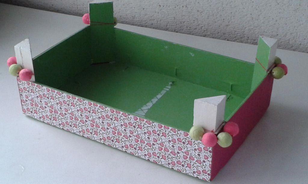 Ideas diy para reciclar cajas de madera hogarmania - Como decorar cajas de madera paso a paso ...