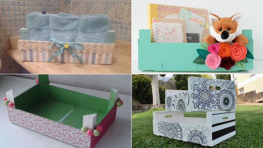 Ideas Diy Para Reciclar Cajas De Madera Hogarmania - Ideas-de-reciclaje