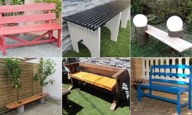 Ideas Para Hacer Un Banco Para El Jardin Hogarmania