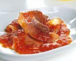 Jamón con tomate