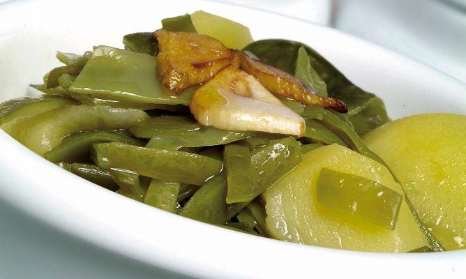 Receta de jud as verdes con patatas karlos argui ano - Tiempo coccion judias verdes ...