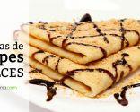 15 recetas de crepes dulces