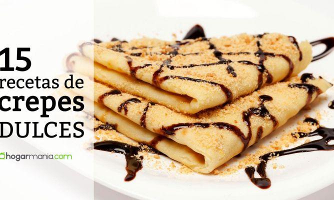 15 recetas y trucos para preparar crepes dulces hogarmania - Como se hacen crepes dulces ...