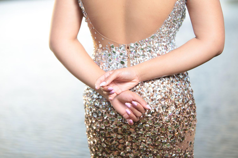 d131e805663 Vestidos para una boda de noche según tu cuerpo - Hogarmania