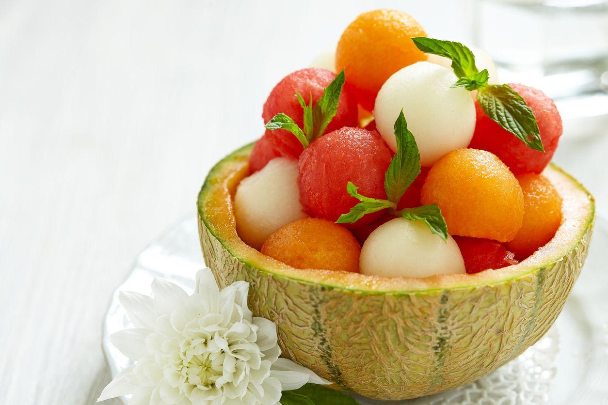 Bolitas de fruta