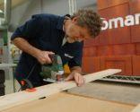 Como hacer un cabecero de madera con librería