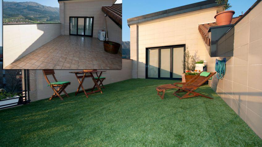Colocar Hierba Artificial En Terraza Bricomanía