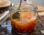 Sopa con tomate y cebollino