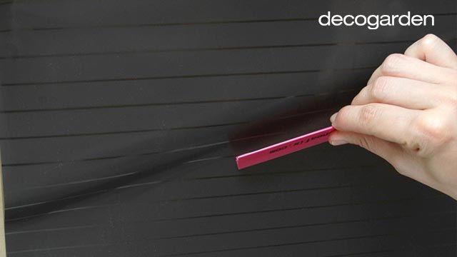 Cómo colocar vinilo o lámina adhesiva en un cristal