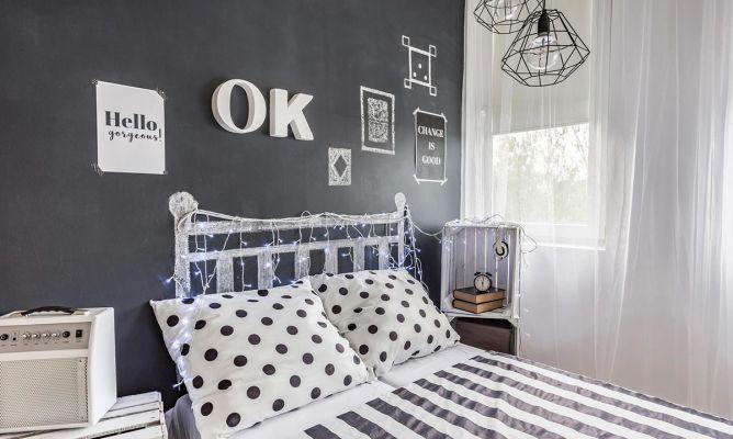 C mo decorar una habitaci n de adolescente hogarmania - Como adornar una pared ...