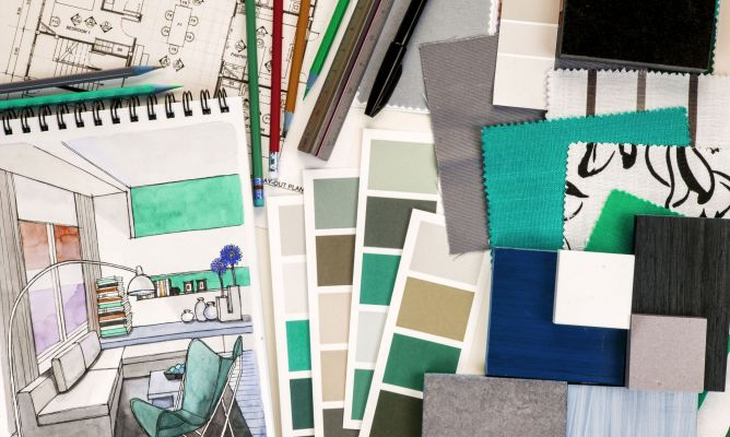 Elegir colores y destacar espacios - Hogarmania