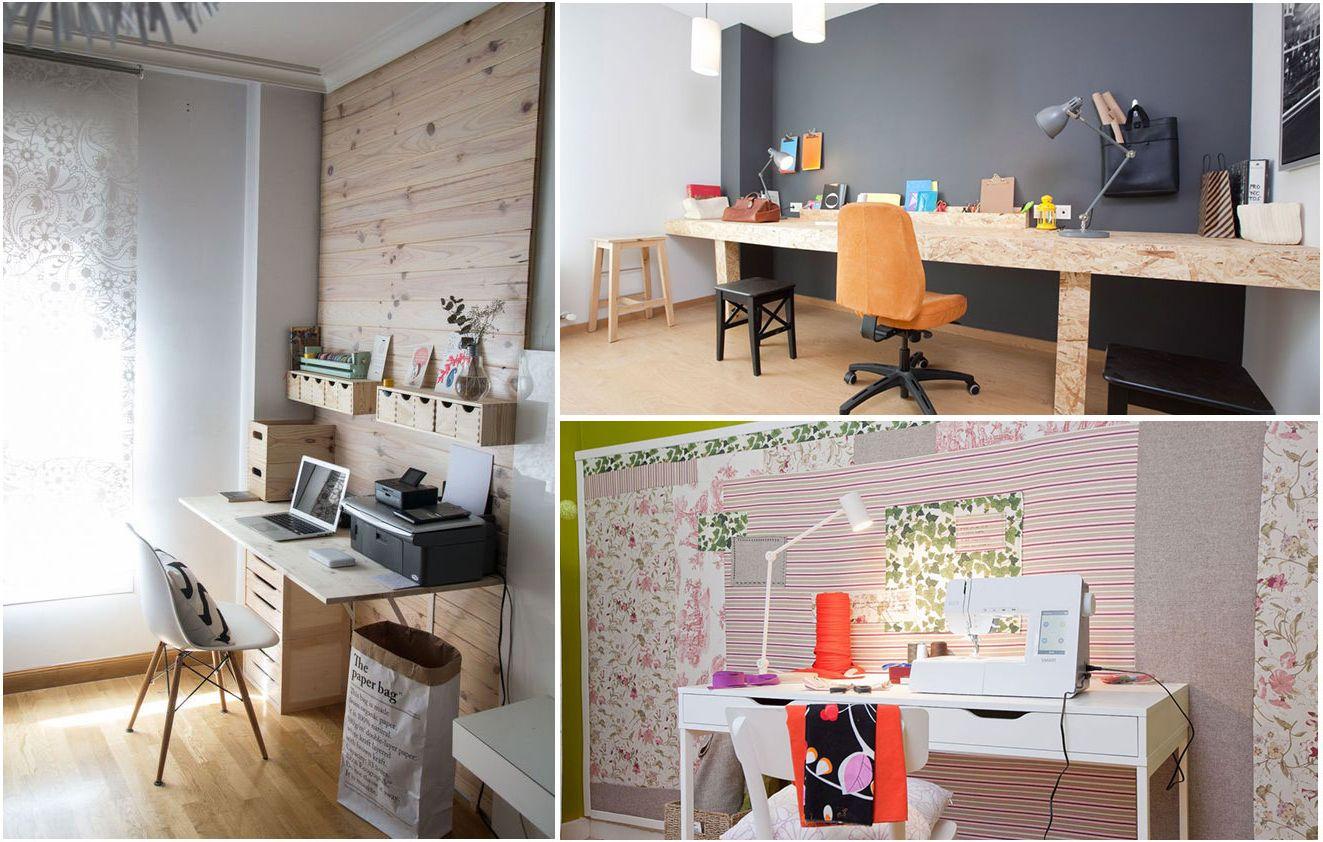 Consejos para decorar un estudio o espacio de trabajo for Hogarmania com decoracion