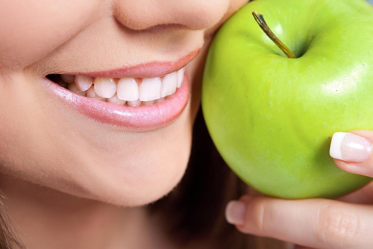 frutas belleza manzana