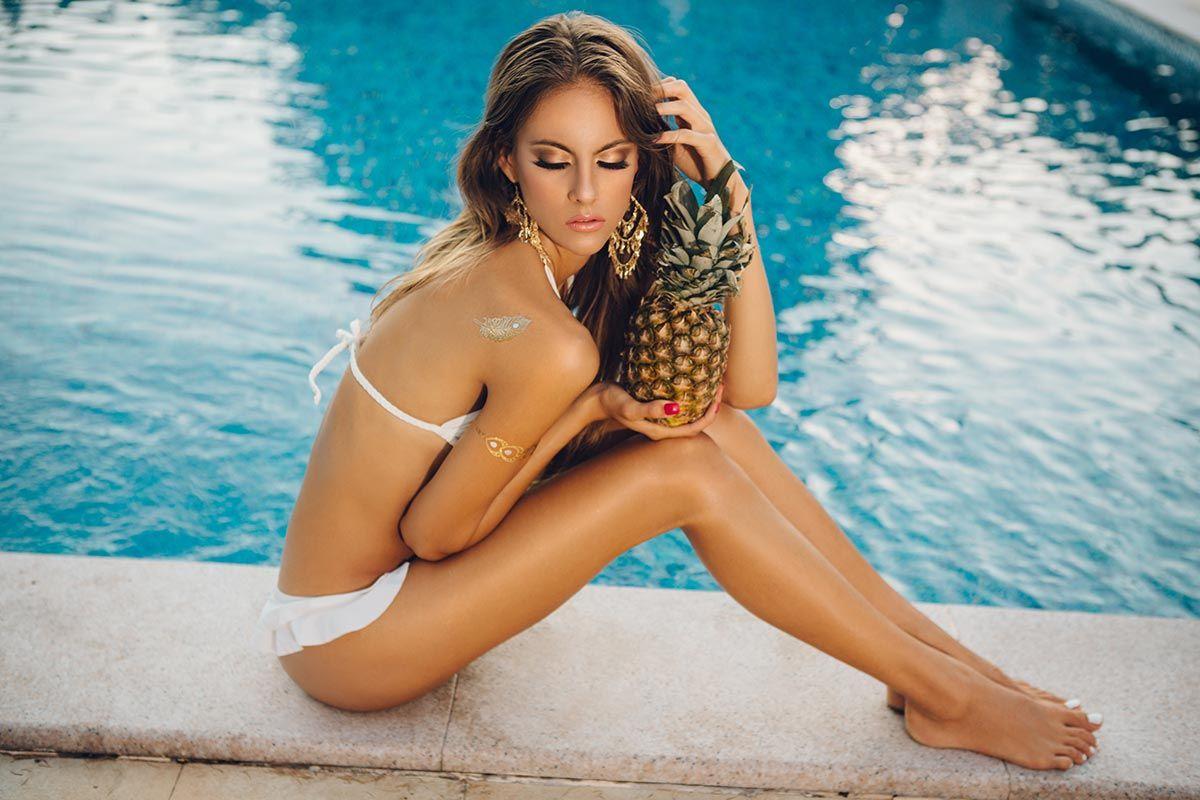 frutas belleza piña