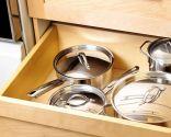 Pequeños electrodomésticos y ollas al cajón