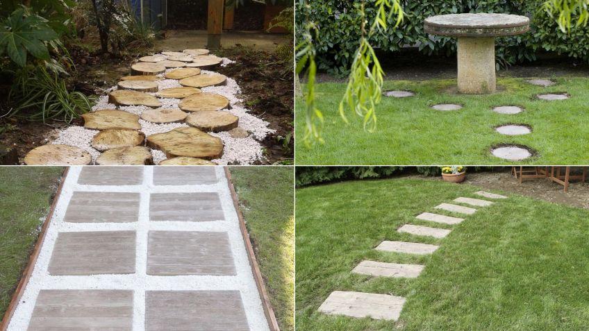 Ideas Para Hacer Caminos En El Jardin Hogarmania - Ideas-de-jardin