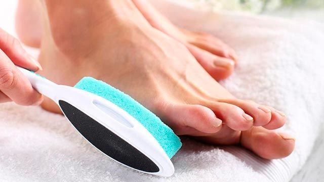 pedicura exfoliar