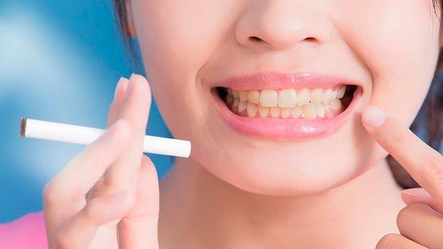 efecto tabaco dientes