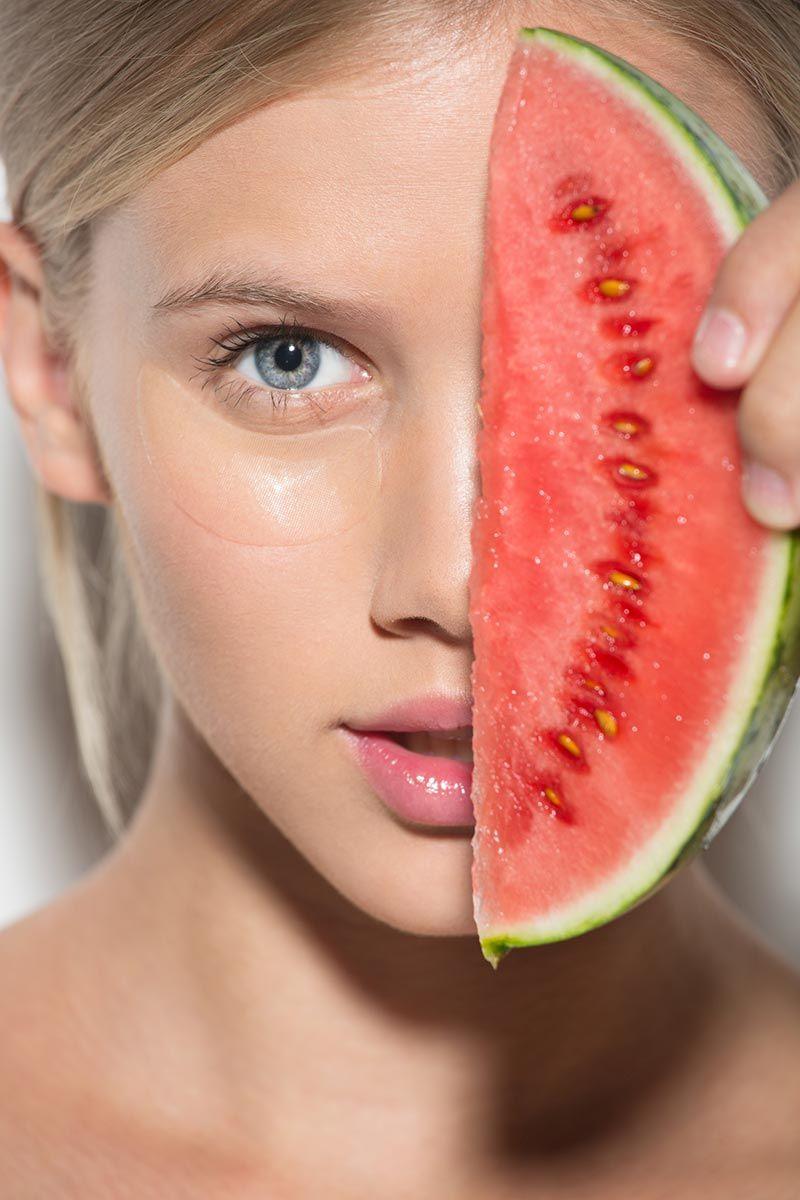 sandía cuidados piel verano