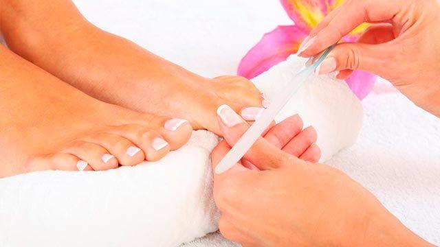 pedicura arreglo uñas