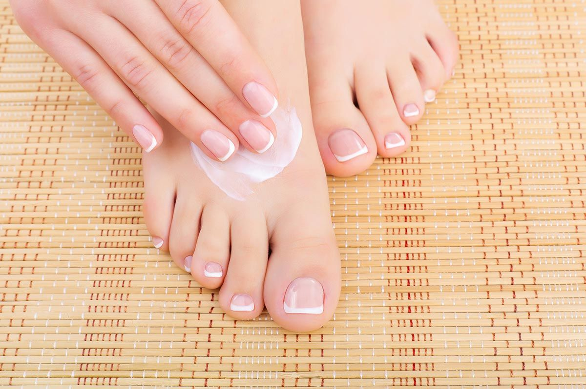 pedicura crema pies