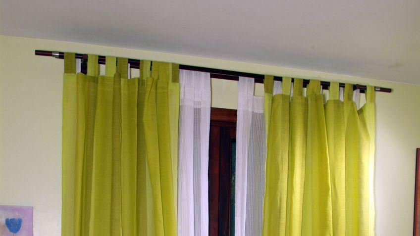 Poner cortinas - Barra doble cortina ...