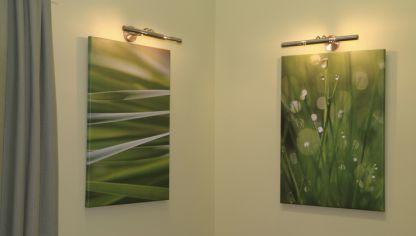 instalacin de apliques de luz para cuadros