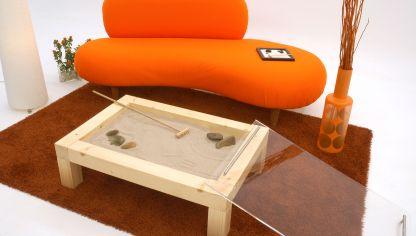 mesa de centro de estilo zen