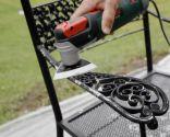 Pintar silla metálica con pintura todo terreno