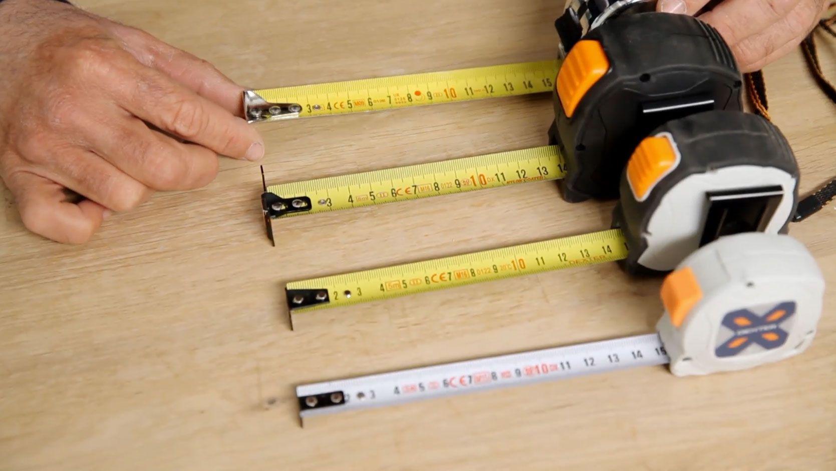 fléxometro o cinta métrica