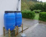 Instalación de depósitos para recoger agua de lluvia