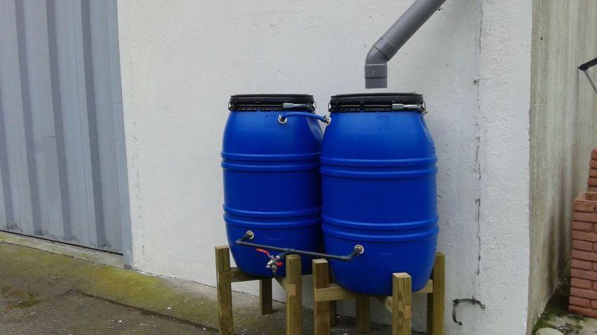 Instalación de depósitos para recoger agua de lluvia - Bricomanía