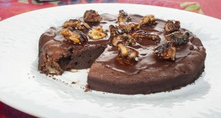 Brownie de nueces