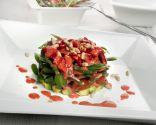 En familia: Ensalada de judías verdes y fresas