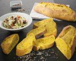Y de postre: Pan con cúrcuma y amapola