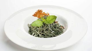 espaguetis de trigo sarraceno o alforfón