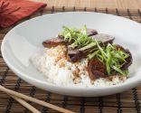 Asia fusión: Chirashi de foie gras estilo Unagi