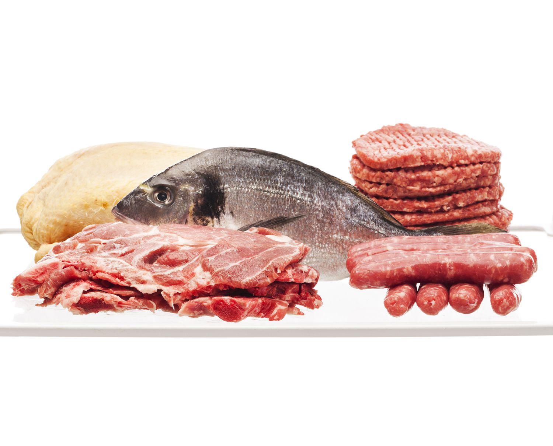 Carne, ave y pescado