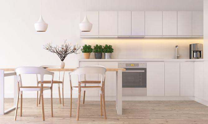 C mo limpiar los armarios de la cocina hogarmania - Como limpiar muebles de madera de cocina ...