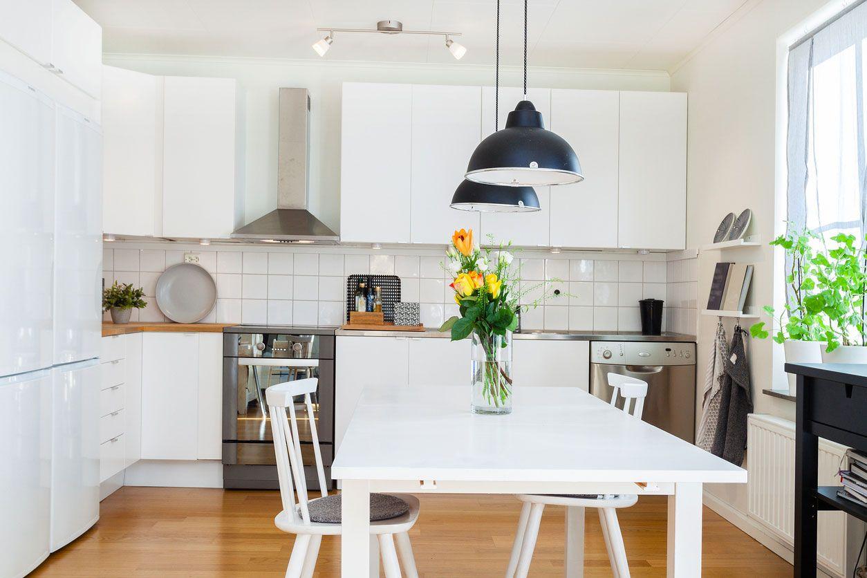 Iluminaci n en la cocina hogarmania - Iluminacion para cocina comedor ...