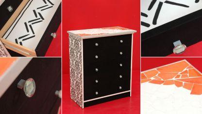 Renovar y tapizar sillas de madera hogarmania - Pintar muebles de formica ...