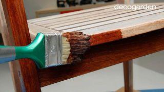 Restaurar muebles de terraza - Paso 3