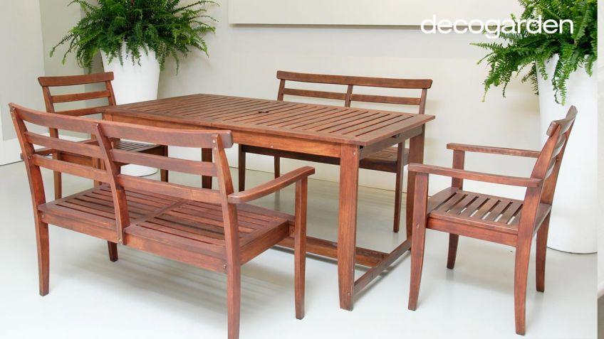 Restaurar muebles de terraza - Decogarden