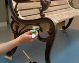 Restaurar banco y cubrejardineras