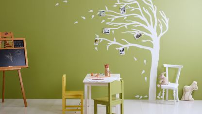 C mo pintar una silla de madera hogarmania - Tecnicas para pintar una habitacion ...