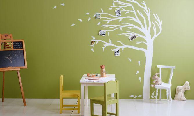 Cómo pintar una habitación infantil - Hogarmania
