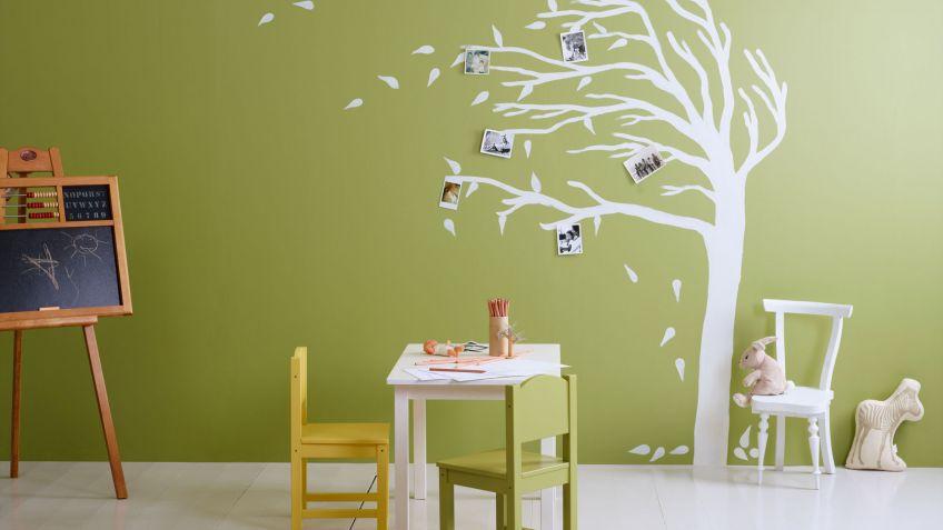 Como Pintar Una Habitacion Infantil Hogarmania - Como-pintar-habitacion-infantil