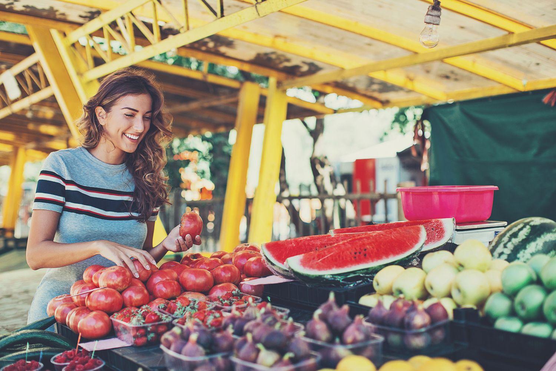 Dieta de fruta y verdura